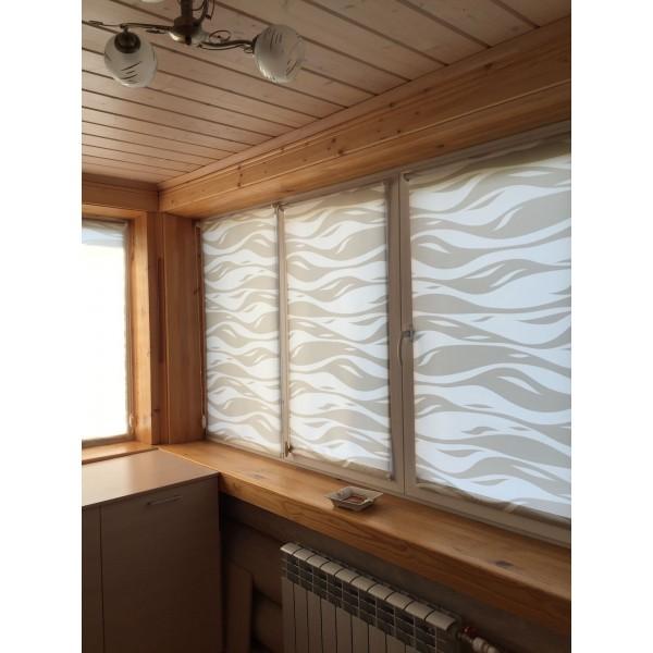 Рулонные шторы в дом